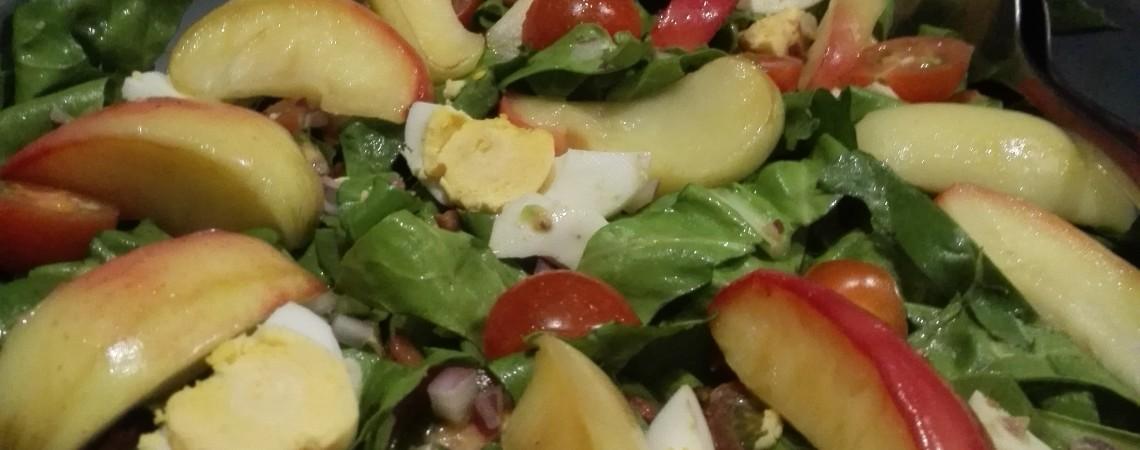 Tip: Snijbietsalade met gegrilde appel